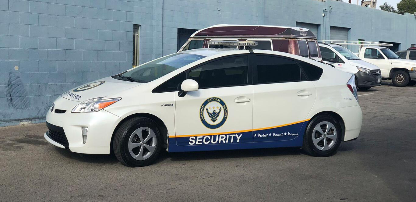 LA, OC Private Security Guards & Patrol Services